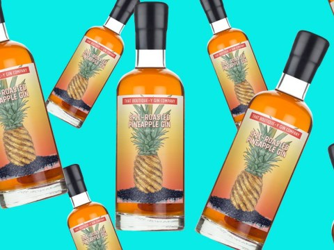You can now get 'spit-roasted' pineapple gin