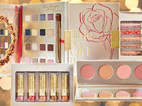 There's a Beauty and the Beast makeup collection and it all looks beautiful