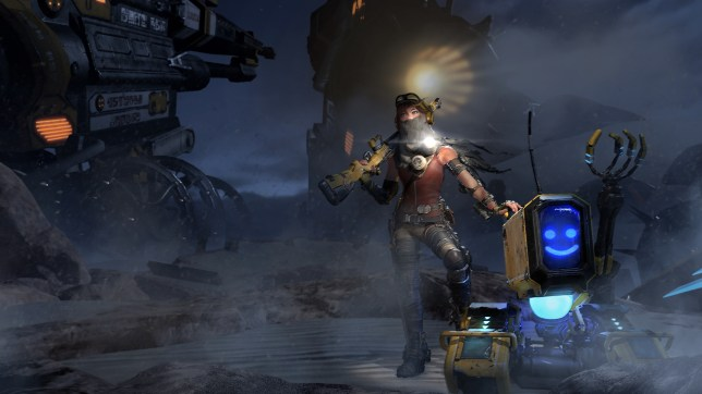 ReCore: Definitive Edition (XO) - the happiest tank in gaming