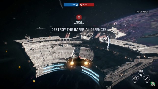 Star Wars: Battlefront II - look at the size of that thing