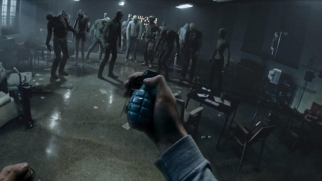 The Walking Dead: Our World - hand grenade, I choose you!
