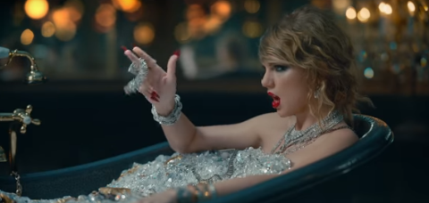 Taylor Swift bathes in $10 million worth of diamonds to get 'revenge' – and fans aren't impressed