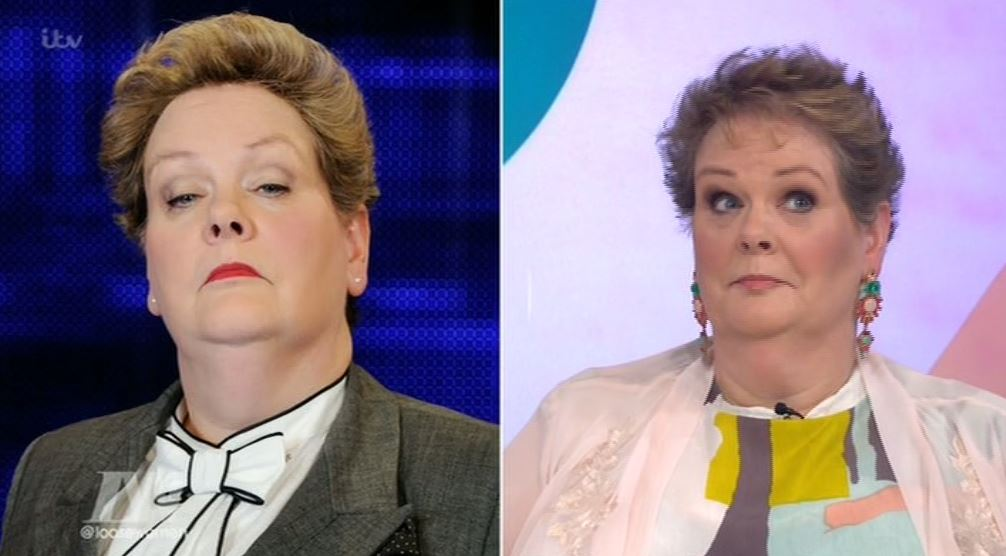 The Chase's Governess ditched her suit and got an uber-glam makeover on Loose Women