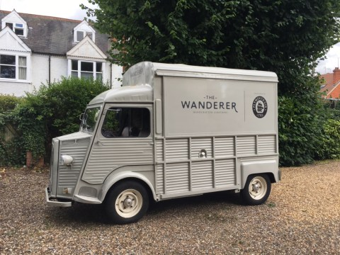 There's a fully stocked mobile artisanal mobile gin bar that's yours to hire