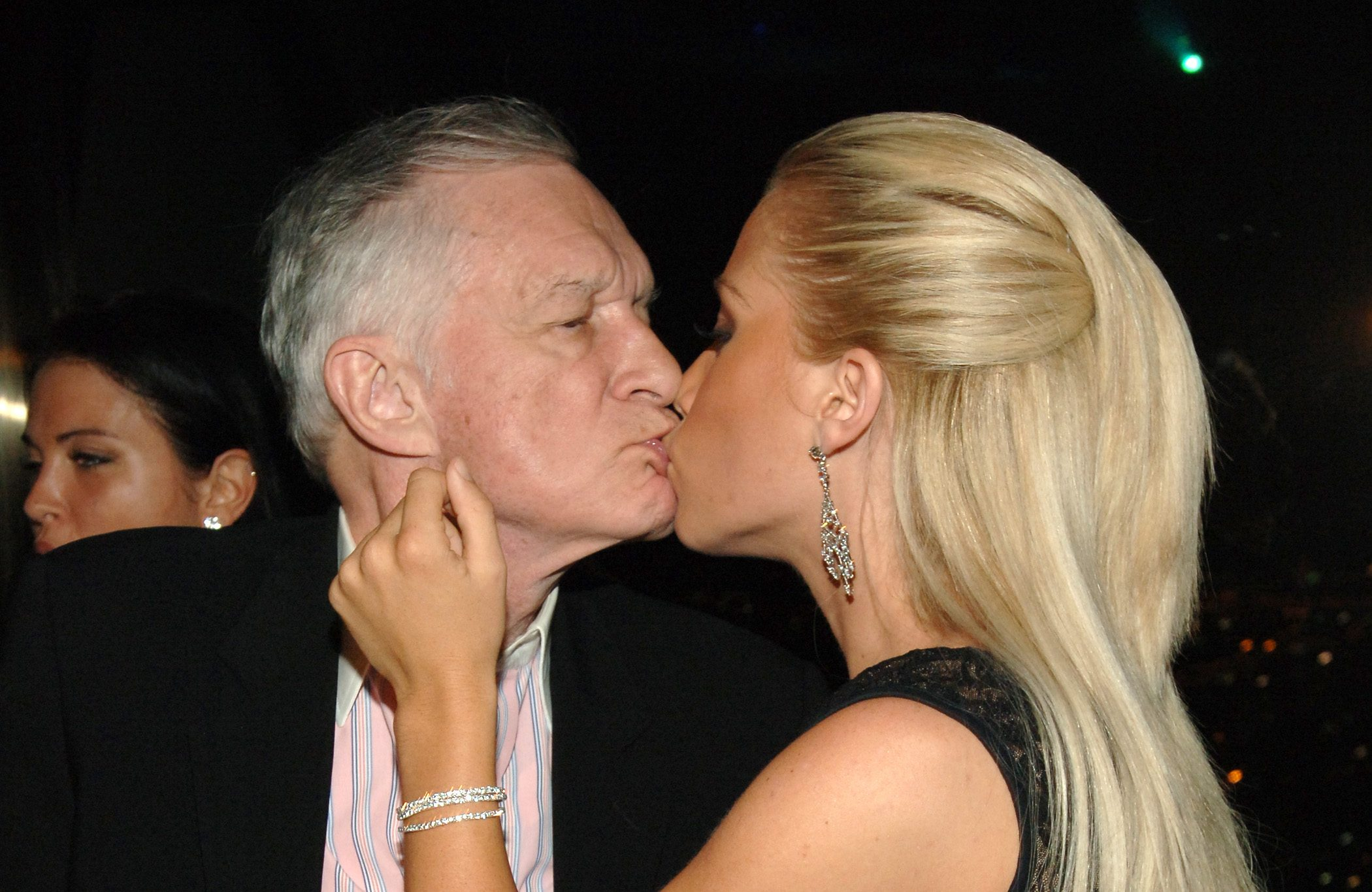 Hugh Hefner's girlfriends pay tribute to man who 'changed their lives'