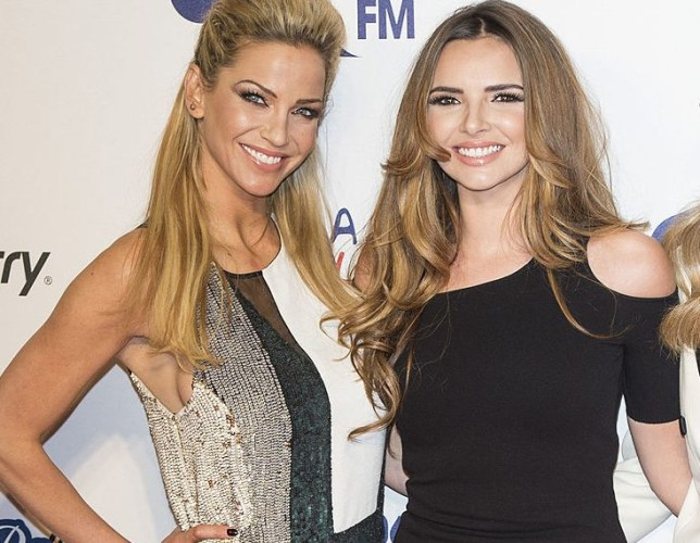 Sarah Harding and Nadine Coyle