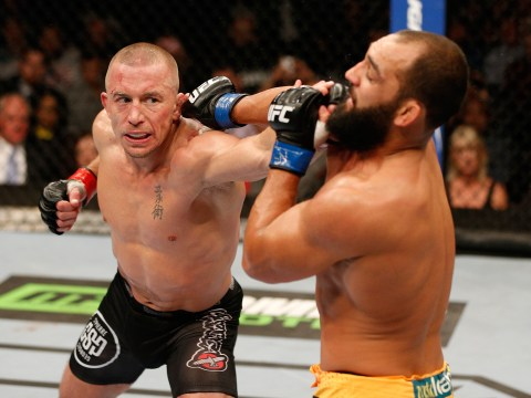 Freddie Roach warns Michael Bisping about Georges St-Pierre's striking power at middleweight