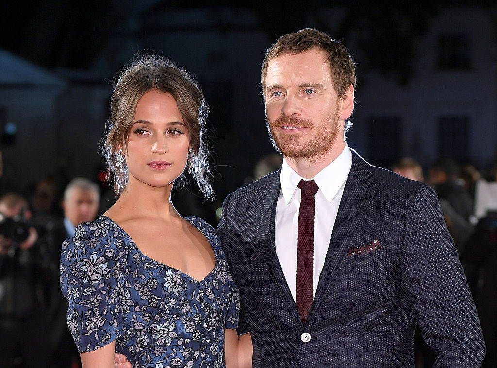 Michael Fassbender claims he did karaoke to Rihanna while the singer was in the room