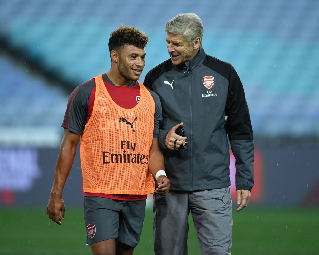 Liverpool star Alex Oxlade-Chamberlain takes subtle dig at Arsene Wenger for holding him back at Arsenal