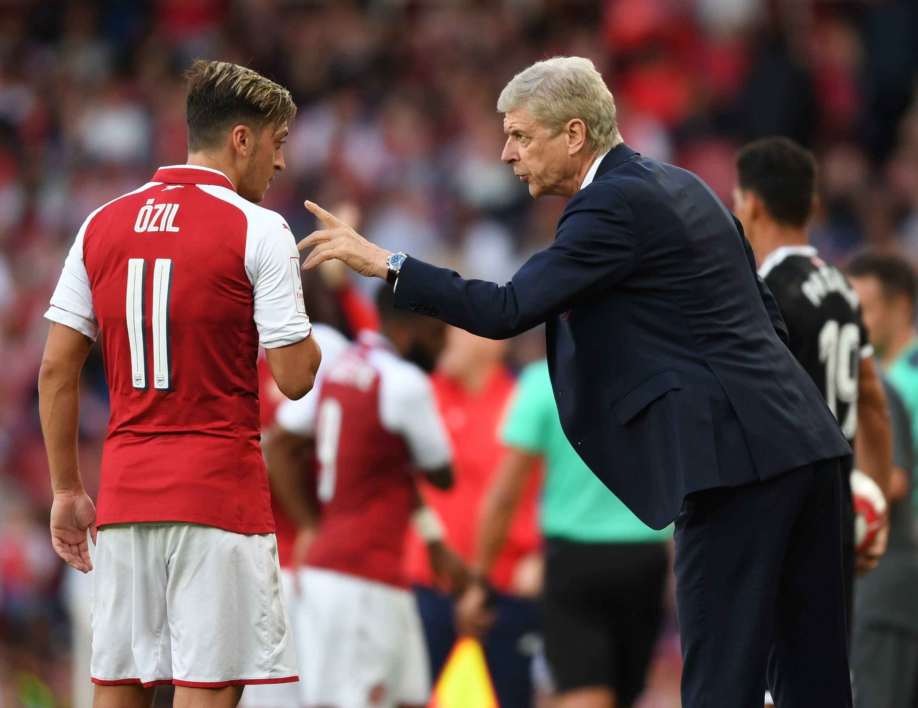 Arsenal should only play Mesut Ozil in home games, says Chelsea hero Ray Wilkins