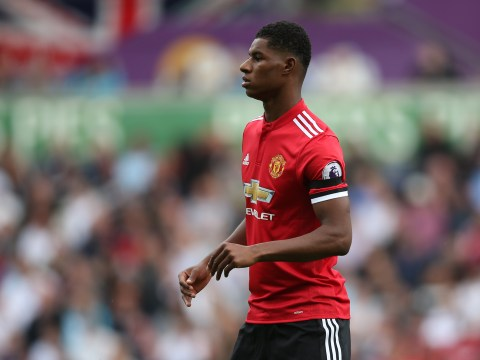 Manchester United's Marcus Rashford enjoying Romelu Lukaku partnership