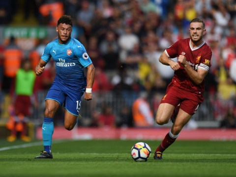 Alex Oxlade-Chamberlain impressed Adam Lallana in Liverpool's 4-0 win over Arsenal