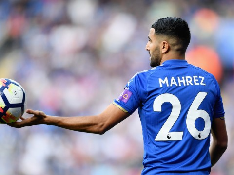 Arsenal and Man Utd transfer target Riyad Mahrez mocked by Craig Shakespeare after deadline day exit fell through