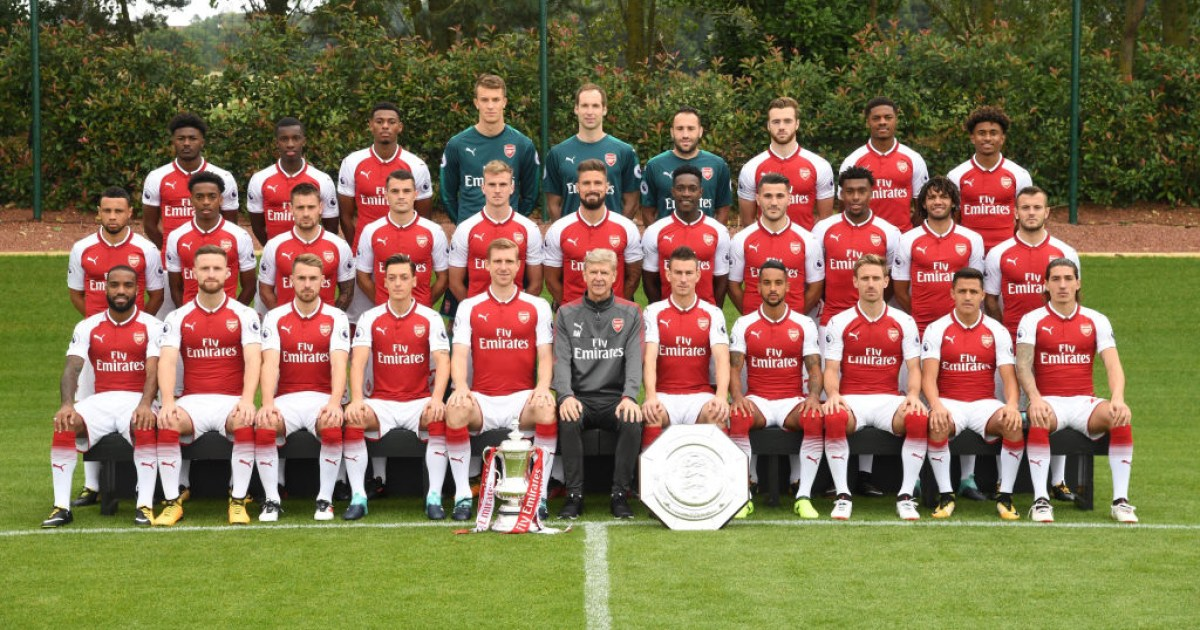 Arsenal news: Squad photo confirms promotion of three ...