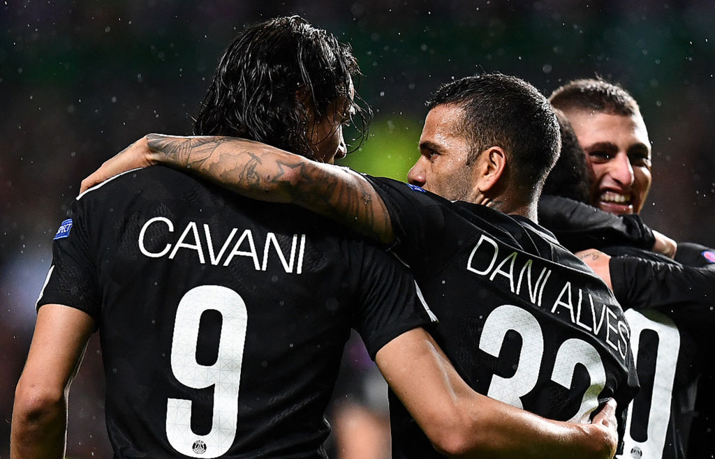 Diego Forlan calls Dani Alves 'Neymar's b****' in explosive defence of Edinson Cavani after PSG penalty furore