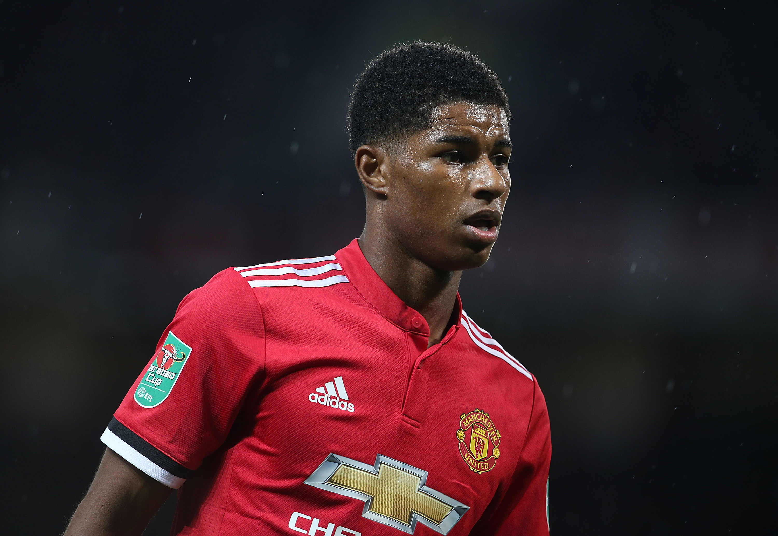 Manchester United's Marcus Rashford in same bracket as Kylian Mbappe, says Phil Neville