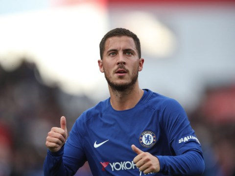 Chelsea's Eden Hazard admits he wishes he had Cesc Fabregas' vision