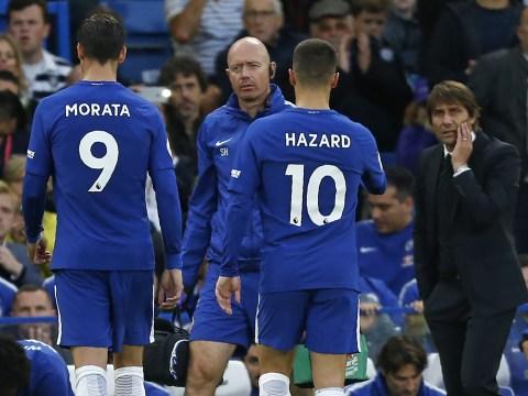 Chelsea boss Antonio Conte says Alvaro Morata injury doesn't look serious