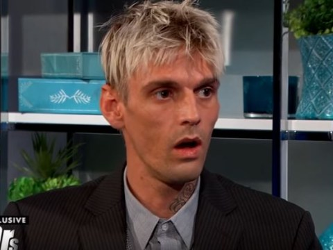 Aaron Carter learns he is HIV negative – but doctors warn his body is 'hanging by a thread'
