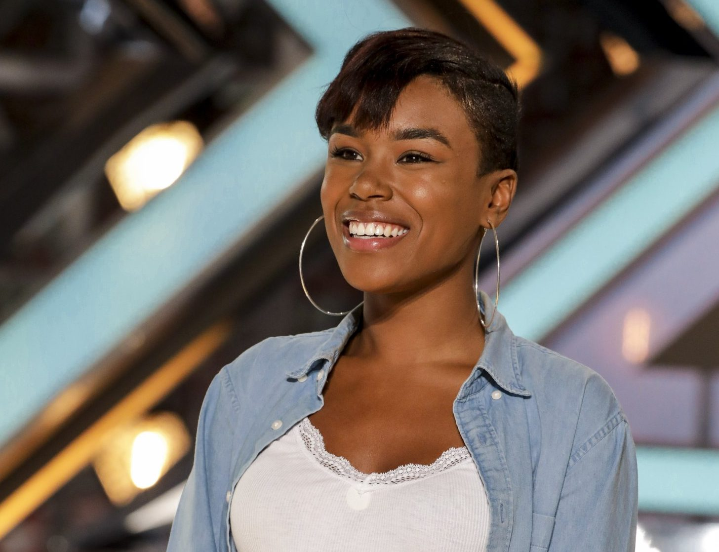 EMBARGOED UNTIL 00:01 SUNDAY 10TH SEPTEMBER 2017 Mandatory Credit: Photo by Dymond/Thames/Syco/REX/Shutterstock (9048391x) Deanna 'The X Factor' TV show, UK - 10 Sep 2017 DEANNA - 22-year-old musician from Anguilla, a British colony in the Caribbean. [Whitney Houston - I Have Nothing]