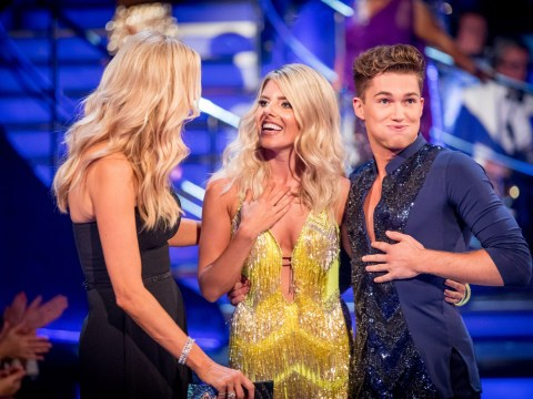 Strictly Come Dancing's Tess Daly jokes about Mollie King flashing her bikini wax