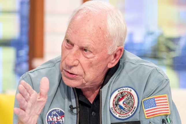 Ben Shephard left flustered after Apollo 15 astronaut loses his cool with him mid-interview