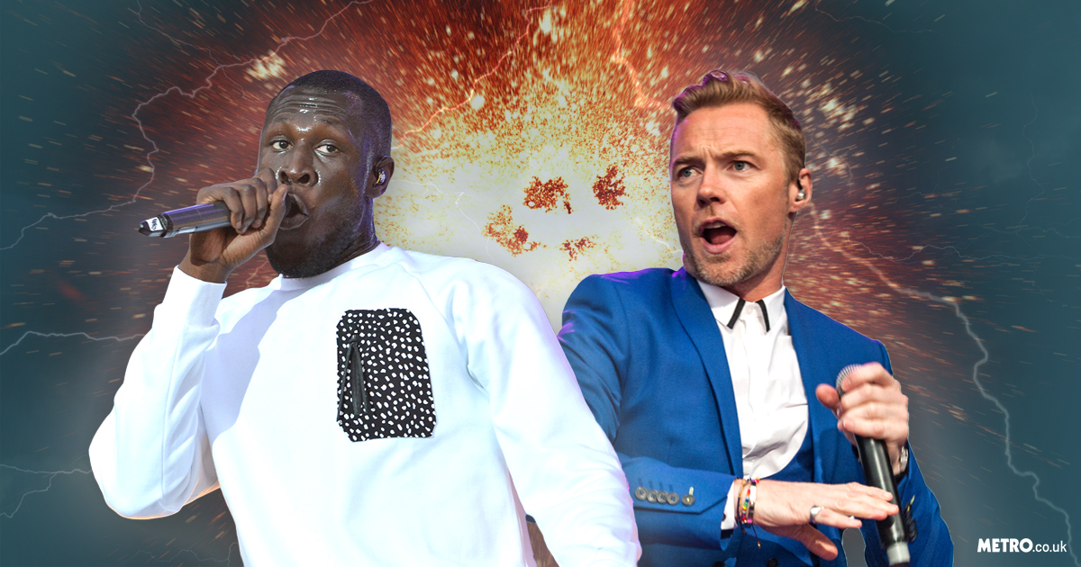 Ronan Keating wants to work with Boyzone fan Stormzy after the pair met at GQ Awards