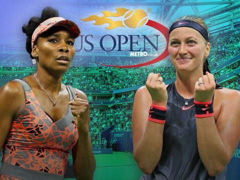 US Open quarter-final preview: Venus Williams v Petra Kvitova