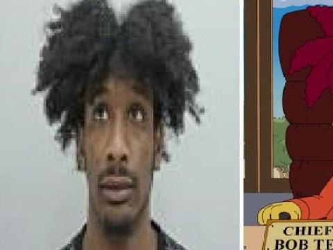 Criminal mocked for 'looking like Sideshow Bob'