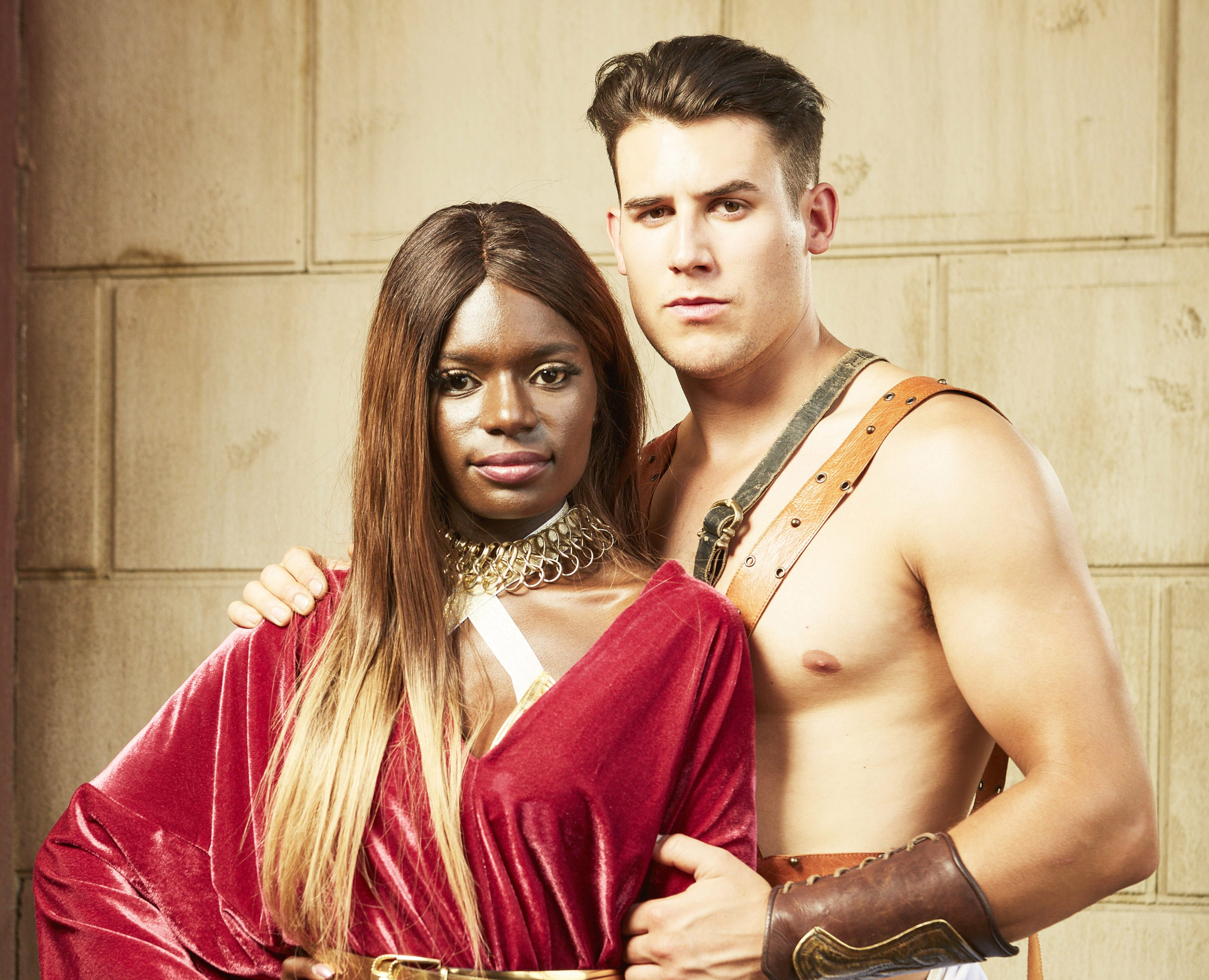Meet the Bromans couples: Modina has been with Kai for three years but her eye is wandering