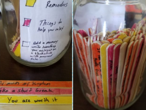 Everyone loves this guy's creative way of helping his girlfriend's depression