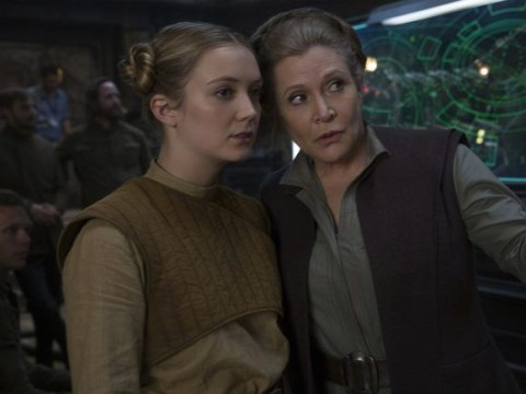 Carrie Fisher's daughter Billie Lourd auditioned for the role of Rey in The Force Awakens