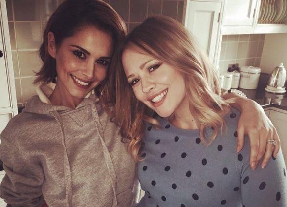 Girls Aloud besties Kimberley Walsh and Cheryl are praising each other again