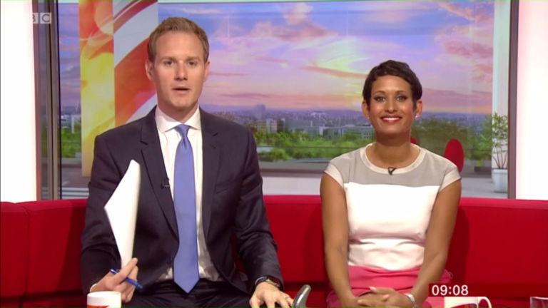 Dan Walker drops accidental C-bomb as he trips over his words on BBC Breakfast