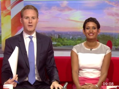Dan Walker drops accidental C-bomb as he trips over his words on BBC Breakfast