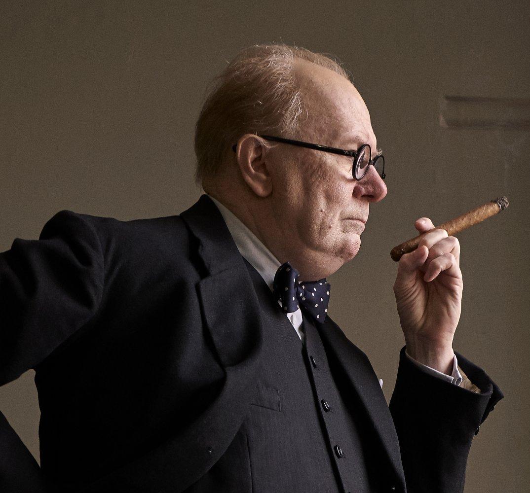Gary Oldman stuns as Winston Churchill in new trailer for Oscar-tipped biopic Darkest Hour
