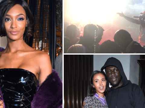 Giggs appears for surprise performance at Jourdan Dunn's London Fashion Week launch
