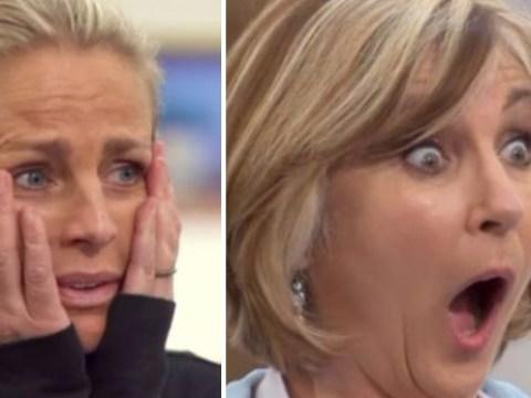 Ulrika Jonsson breaks down in tears as she and Lesley Garrett reach Celebrity MasterChef semi-final