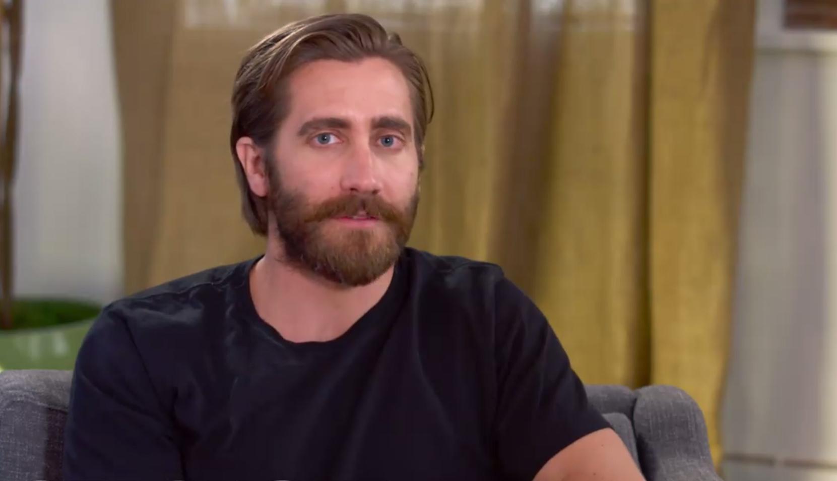 Jake Gyllenhaal is keeping tabs on ex-girlfriend Taylor Swift