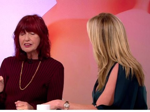 Penny Lancaster and Janet Street-Porter clash in tense debate over whether cannabis should be legalised
