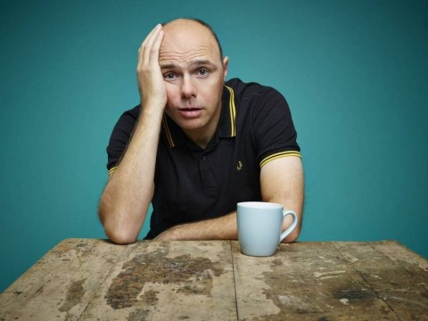 Karl Pilkington's back and grumpy as ever as he prepares to write and star in new series Sick of It