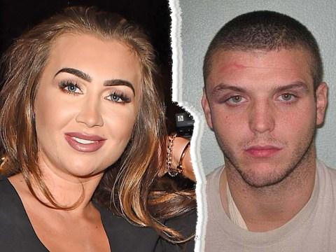 Lauren Goodger has confirmed her split from jailbird boyfriend Joey Morrison