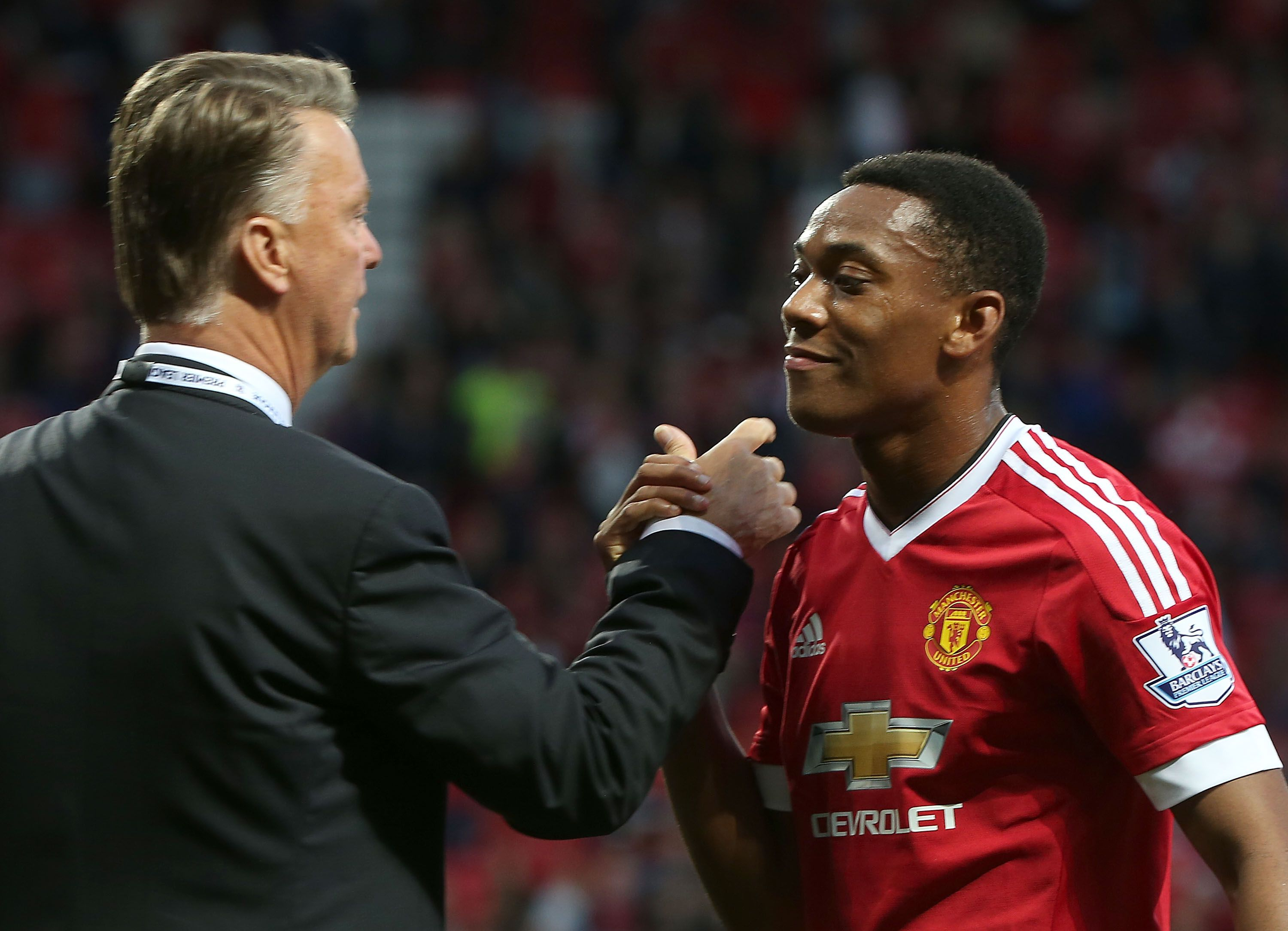 Manchester United fans hail Louis van Gaal for signing 'panic-buy' Anthony Martial during Burton Albion clash