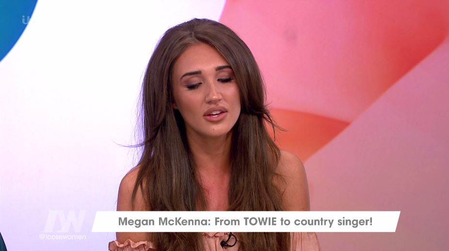 Megan McKenna surprises Loose Women viewers with 'amazing' country singing voice