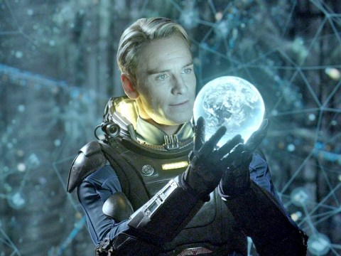 Michael Fassbender likens the thrill of watching Alien for the first time to that of Wonder Woman