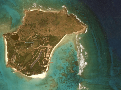 Where is Necker Island? Richard Branson's British Virgin Island