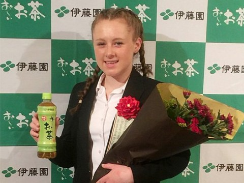 British schoolgirl becomes first ever non-Japanese winner of prestigious contest