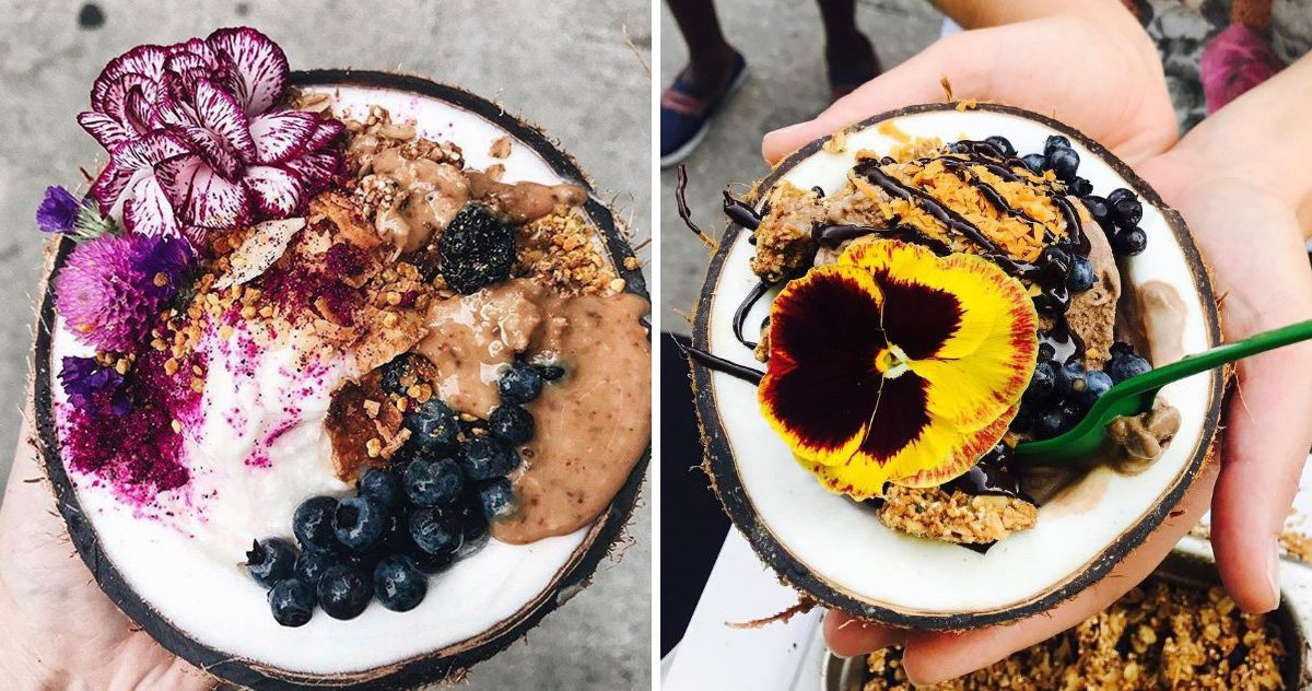 These crazy cute ice cream bowls are actually really super healthy