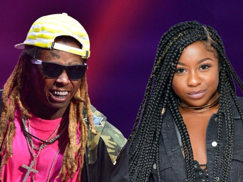 Lil Wayne's daughter Reginae Carter says her father is doing 'fine' after being hospitalised