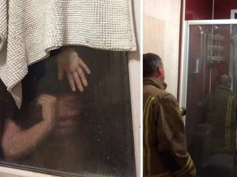 Man's Tinder date gets stuck upside-down in window trying to grab her own poo